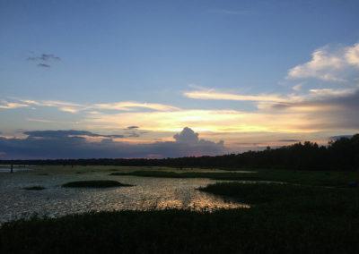 19 Dusk at Cow Island